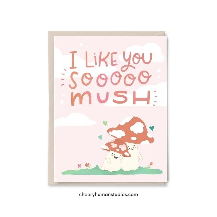 Like You So Mush, Love / Friendship Card