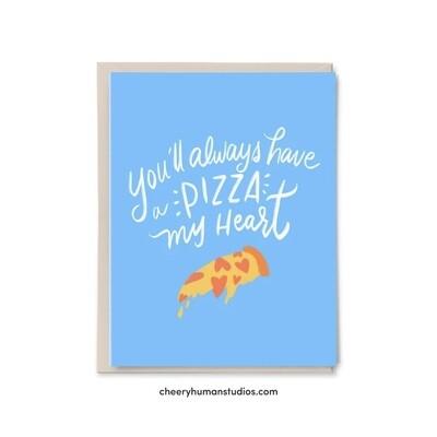 Pizza My Heart, Love / Friendship Card