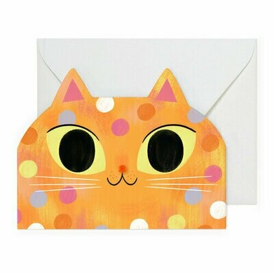 Shaped Kitty Card