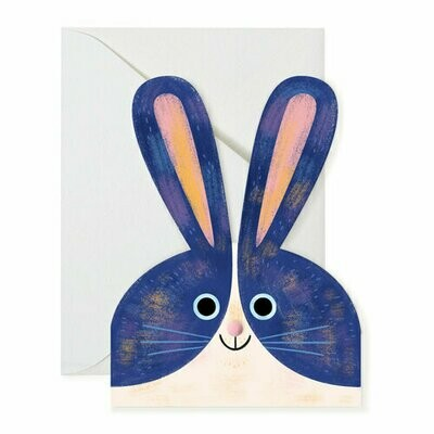 Shaped Bunny Card