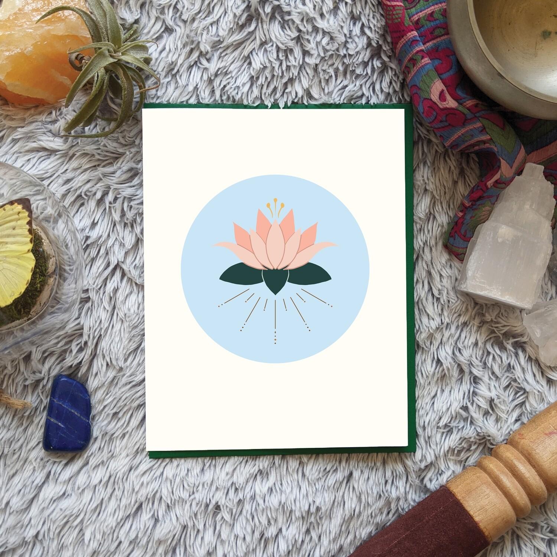 Radiant Lotus, Empowerment Card