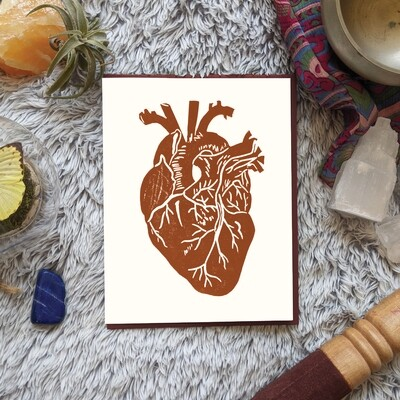 Anatomical Heart, Empowerment Card
