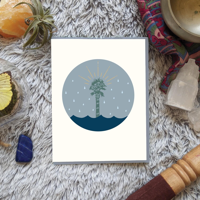 Tropical Rainstorm, Empowerment Card