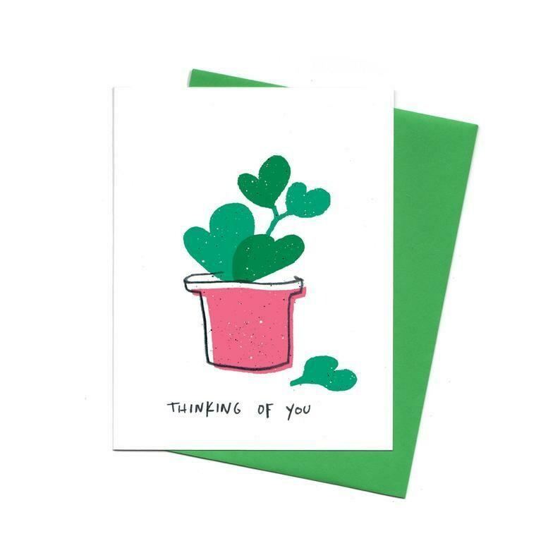 Thinking Of You Hoya, Single Card