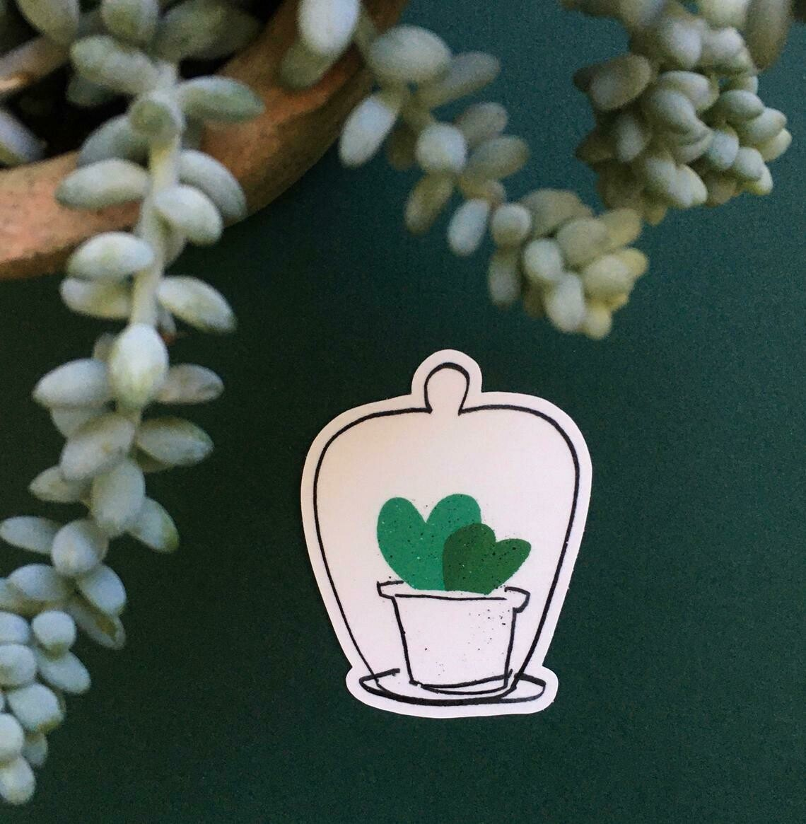 Sweetheart Hoya Cloche Sticker