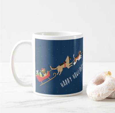 SALE - Happy Howlidays Mugs