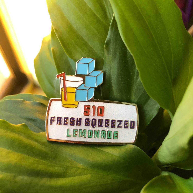Fresh Squeezed Lemonade Pin