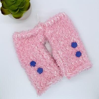 Plush Hand Warmer, Pink