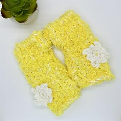 Plush Hand Warmer, Yellow