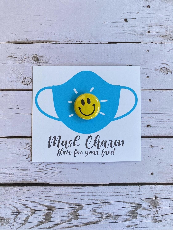 Mask Charm - Smiley