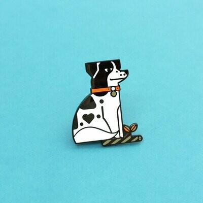Eddy Dog Pin