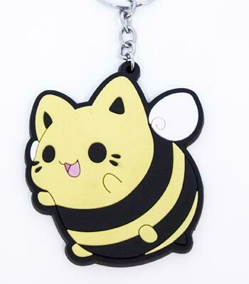 Bumblebee Meowchi Vinyl Keychain