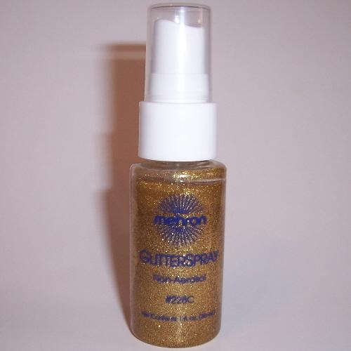 Glitter Spray Pump Gold