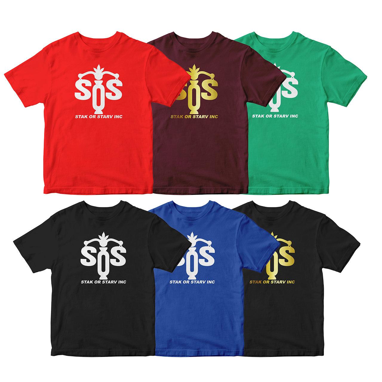 SOS Scales Logo Tee