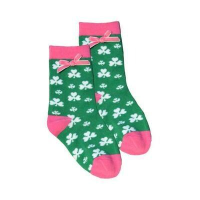 Socks Girls Shamrock