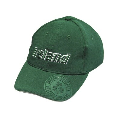 Emerald Ireland Kids Baseball Cap