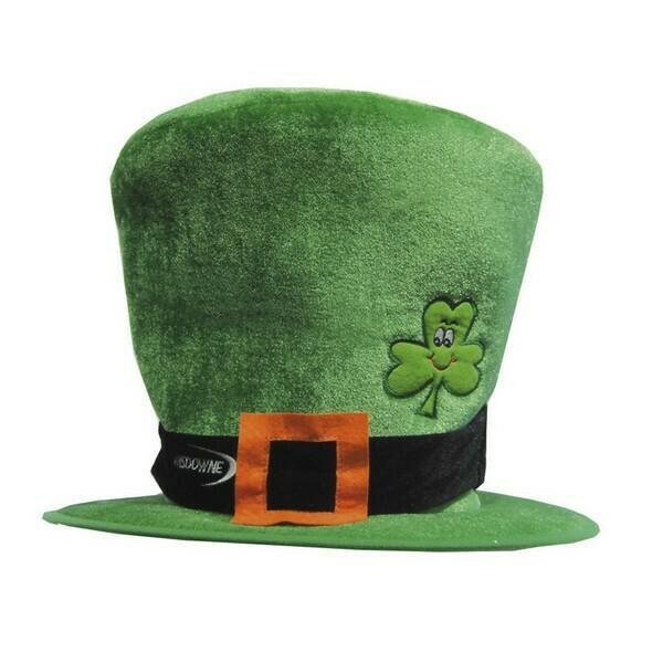 Tall Shamrock Hat