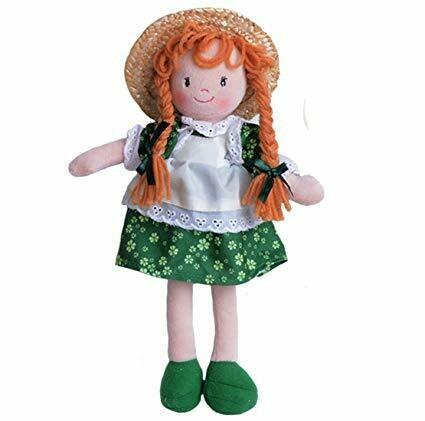 Lass in Hat Rag Doll