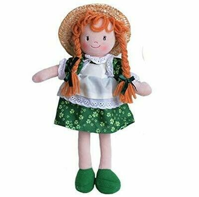 Lass in Hat Rag Doll