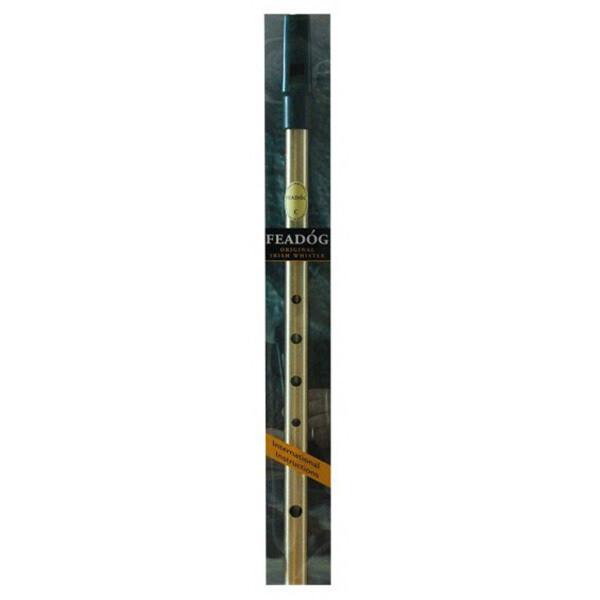 Feadog Brass Whistle-Key of C