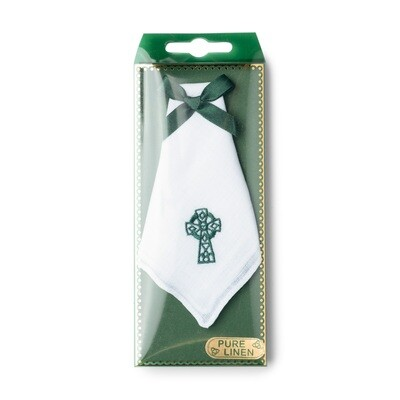 Celtic Cross Handkerchief