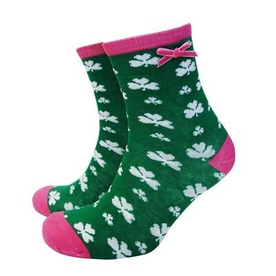 Sock-Green/Pink