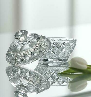 Galway Crystal Trinket Box