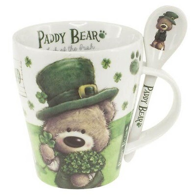 Mug & Spoon - Paddy Bear