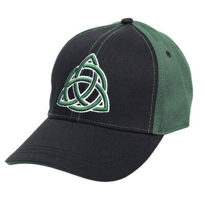 Black Celtic Twist Cap