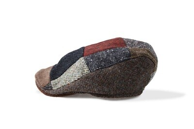 Irish Wool Patchwork Cap