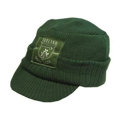 Ireland Green Knit Cadette Hat