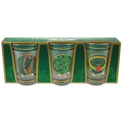Shot Glass- 3 pack frosted