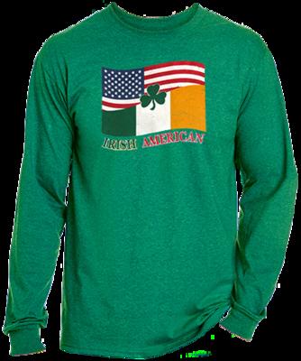 Irish American Long Sleeve Tee