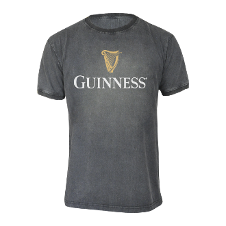 Guinness Distressed Harp T-Shirt