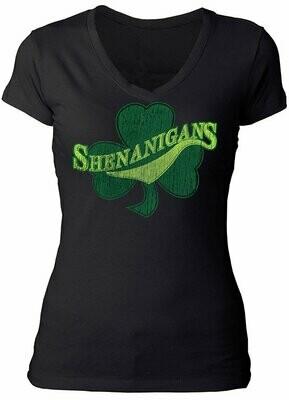 Shenanigan's V-Neck T-Shirt