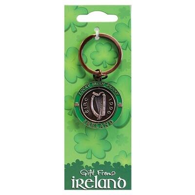 Penny Spinner Key Ring