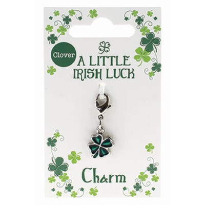 Clover Charm - Filled Clover