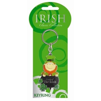 Classic Leprechaun Key Ring