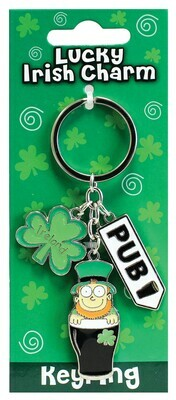 Leprechaun Pub Key Ring