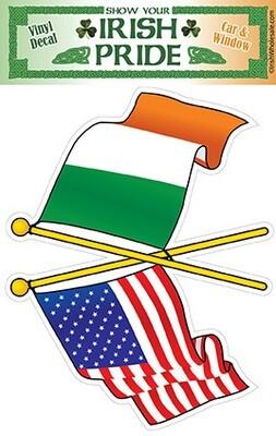 Decal - Irish American
