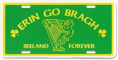 Lic Plate - Erin Go Bragh