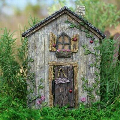 Ladybug Fairy Door