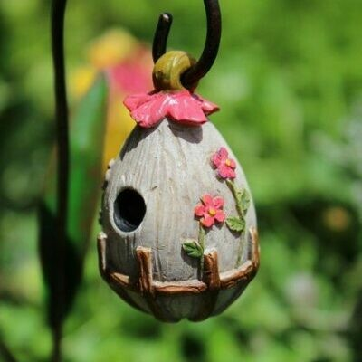 Flowering Birdhouse