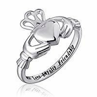 S925SS Claddagh Ring