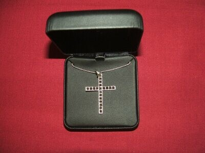 SS18 Marcasite Cross Necklace