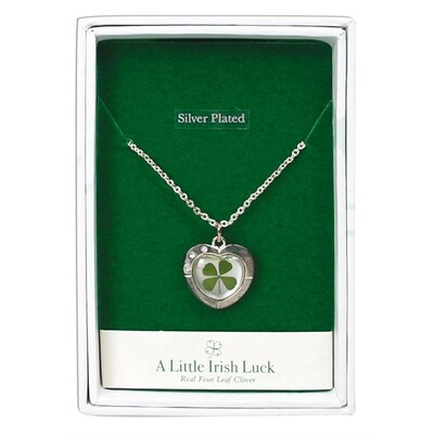 Clover Necklace - Heart
