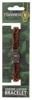 Guinness Leather Bracelet