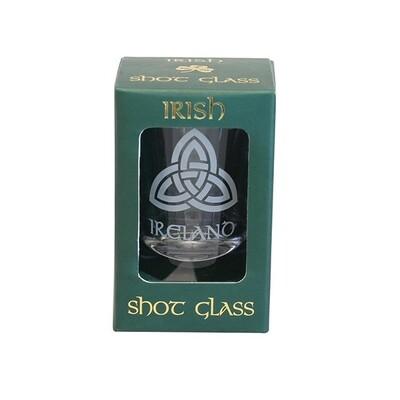 Shot Glass-Trinity Knot