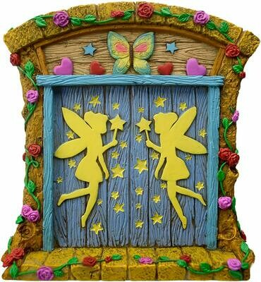 Twig & Flower Fairy Door