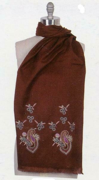 Floral Embroidered Scarf  *****See Color Options*****